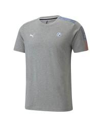 Camiseta Bmw Mms T7 Masculina / Cinza